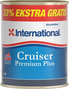 International Cruiser Bundmaling hvid 3 ltr.